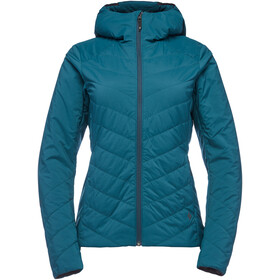 Black Diamond First Light Stretch Capuchon Ja Dames, spruce